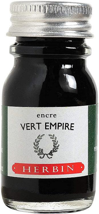 J.HERBIN INK, VERT EMPIRE, GREEN EMPIRE 10ML