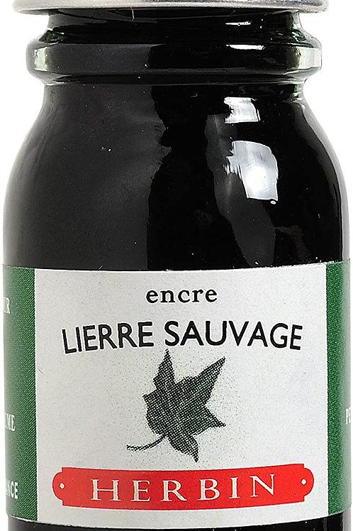 J.HERBIN INK, LIERRE SAUVAGE, WILD IVY GREEN 10ML
