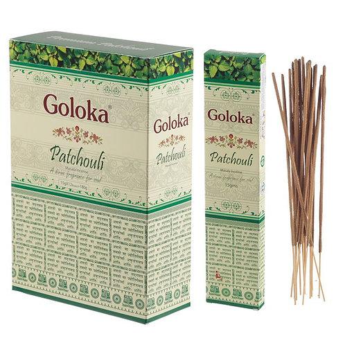 GOLOKA MASALA PATCHOULI INSENCE STICKS