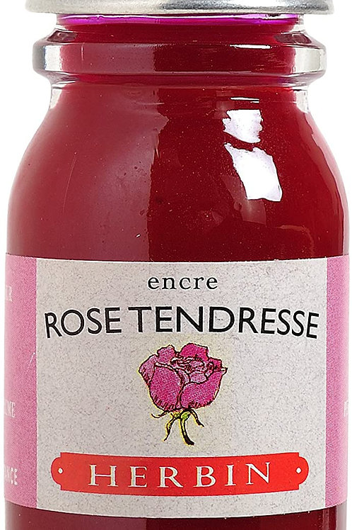 J.HERBIN INK, ROSE TENDRESSE, TENDERNESS PINK  10ML