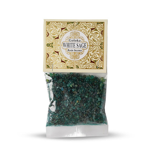 WHITE SAGE RESIN INCENSE 30G