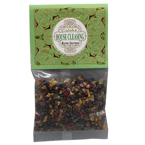 GOLOKA HOUSE CLEANSING RESIN INCENSE