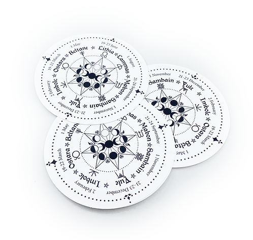 BULLET JOURNAL WHEEL OF THE YEAR STICKERS