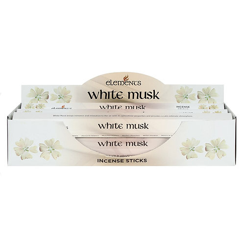 ELEMENTS WHITE MUSK INCENSE