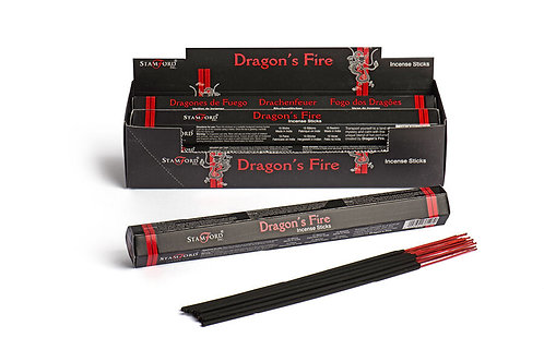 STAMFORD DRAGONS FIRE HEX STICKS