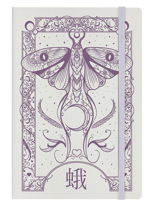 CRYTIC MOTH - A5 HARD COVER NOTEBOOK