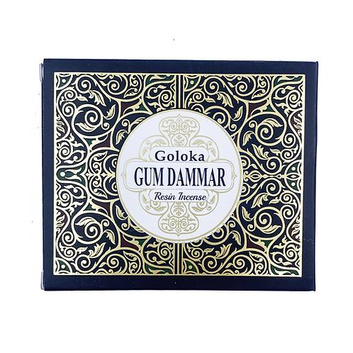 GOLOKA GUM DAMMAR RESIN INCENSE 50G
