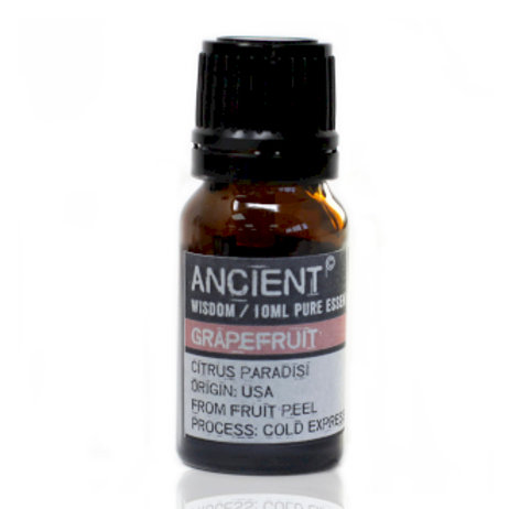 ANCIENT WISDOM  ESSENTIAL OILS, GRAPEFRUIT 10ml