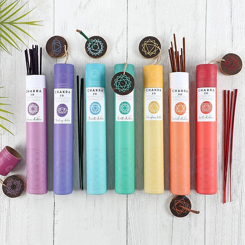 SPIRIT OF EQUINOX CHAKRA INCENSE (7 varieties)