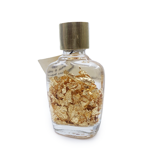 GOLD FLAKES IN BOTTLE