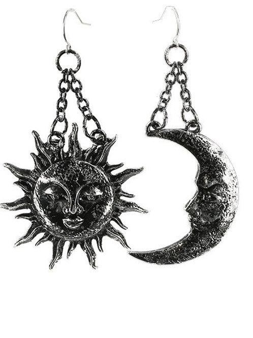 RESTYLE EARRINGS MOON & SUN