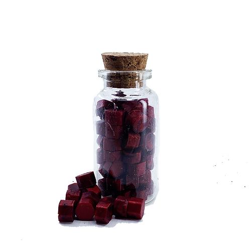 SEGIL WAX OCTAGON - BLOOD RED 15g