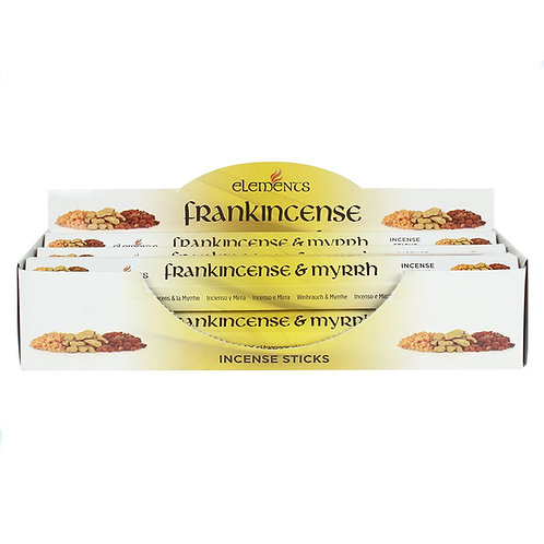 ELEMENTS FRANKINCENSE & MYRRH INCENSE