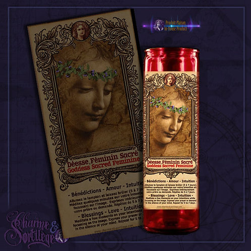 CHARME ET SORTILEGE GODDESS - 7 DAY CANDLE