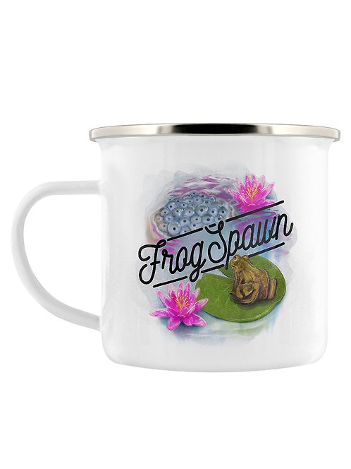 DEADLY DETOX- FROG SPAWN ENAMEL MUG