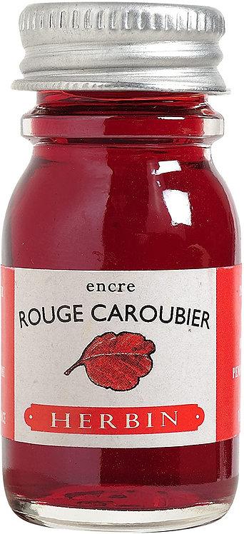 J.HERBIN INK, ROUGE CARBOUBIER, CAROB SEED RED 10ML
