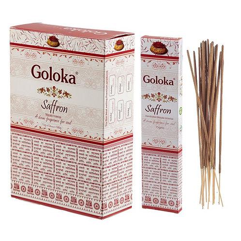 GOLOKA MASALA SAFFRON INSENCE STICKS