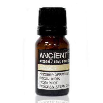 ANCIENT WISDOM  ESSENTIAL OILS, GINGER 10ml