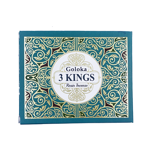 GOLOKA 3 KINGS RESIN INCENSE 50G