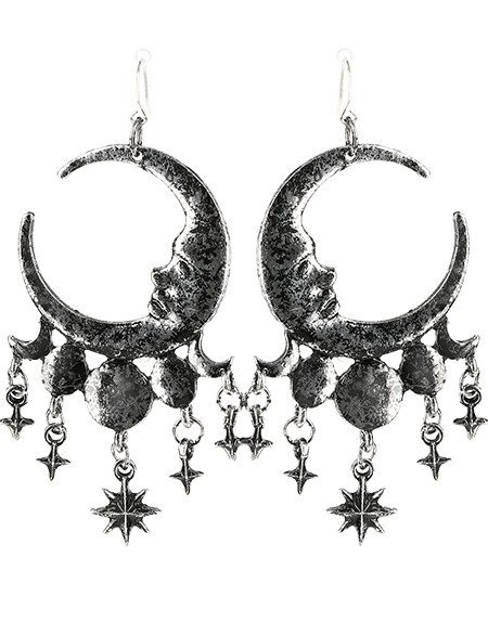 RESTYLE SLEEPLESS NIGHTS SILVER EARRINGS