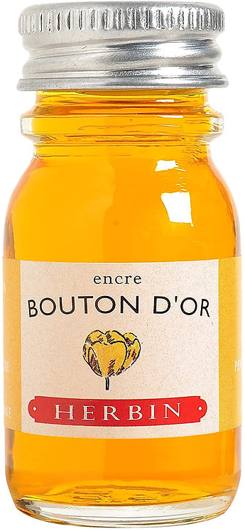 J.HERBIN INK, BOUTON D'OR, YELLOW BUTTON GOLD 10ML