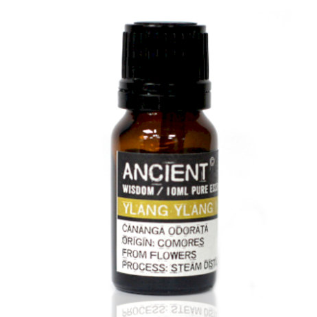 ANCIENT WISDOM  ESSENTIAL OILS, YLANG YLANG 10ml