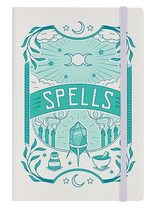 MYSTICAL SPELLS - A5 HARD COVER NOTEBOOK