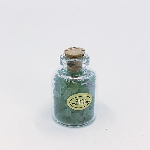 GREEN AVENTURINE GEMSTONE BOTTLE