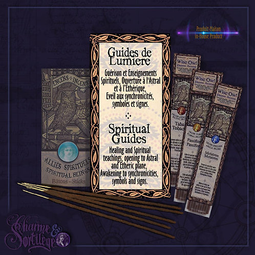 WISE OWL INCENSE STICKS - SPIRUTAL GUIDES