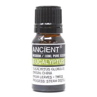 ANCIENT WISDOM  ESSENTIAL OIL, EUCALYPTUS 10ml