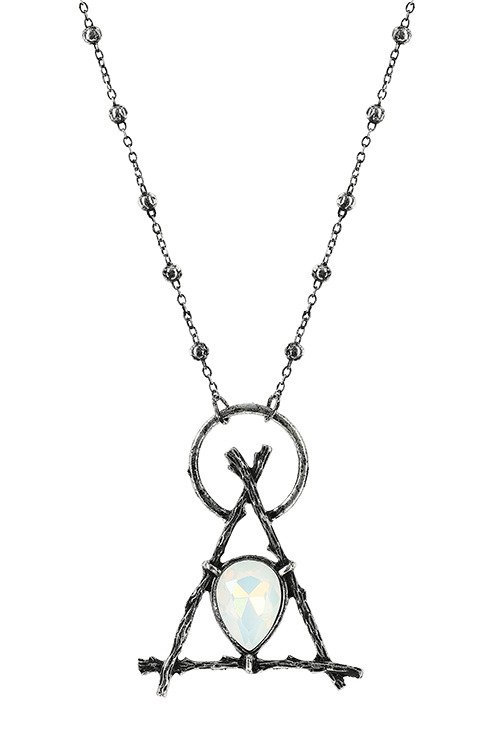 RESTYLE NECKLACE BRANCH OPAL