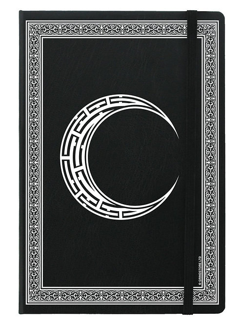 CELTIC MOON - A5 HARD COVER NOTEBOOK
