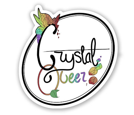 CRYSTAL QUEER STICKER