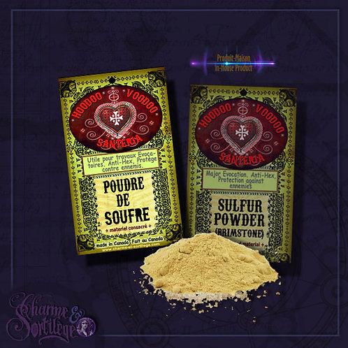 CHARME ET SORTILEGE - SULFUR POWDER (BRIMSTONE)
