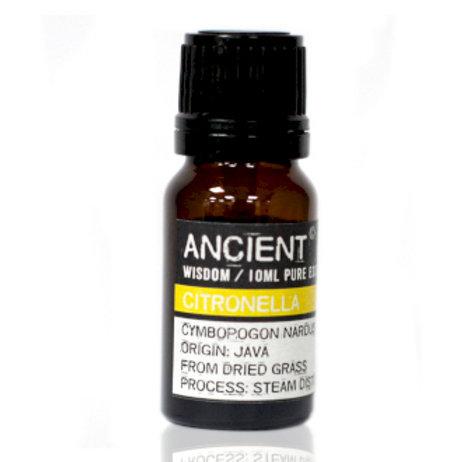 ANCIENT WISDOM ESSENTIAL OIL, CITRONELLA 10ml