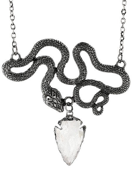 RESTYLE ENTWINE SILVER NECKLACE