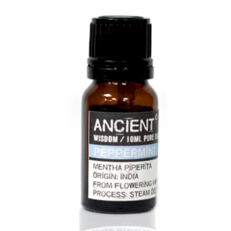 ANCIENT WISDOM ESSENTIAL OIL, PEPPERMINT 10m