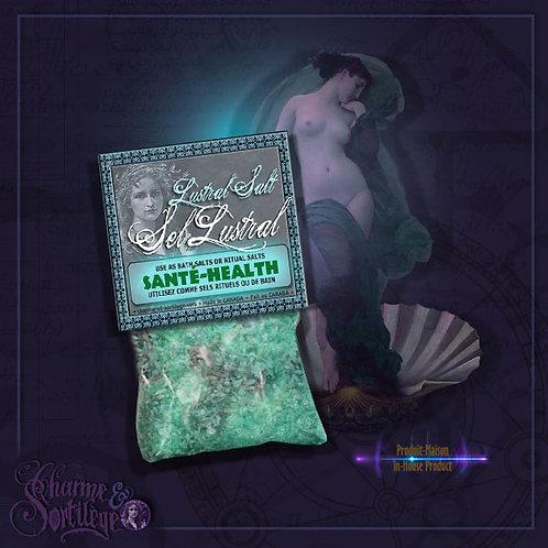 CHARME ET SORTILEGE SEL LUSTRAL SANTÉ - HEALTH LUSTRAL BATH SALTS