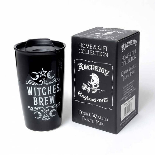 WITCHES BREW; DOUBLE WALLED MUG