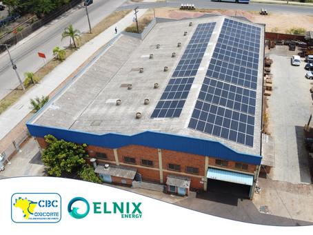 CBC Oxicorte investe em energia solar