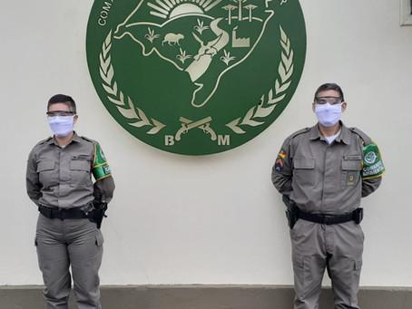 CBC Oxicorte faz doação de EPIs para Batalhão Ambiental da Brigada Militar