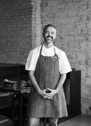 Chef Alex Roberts at Alma Restaurant