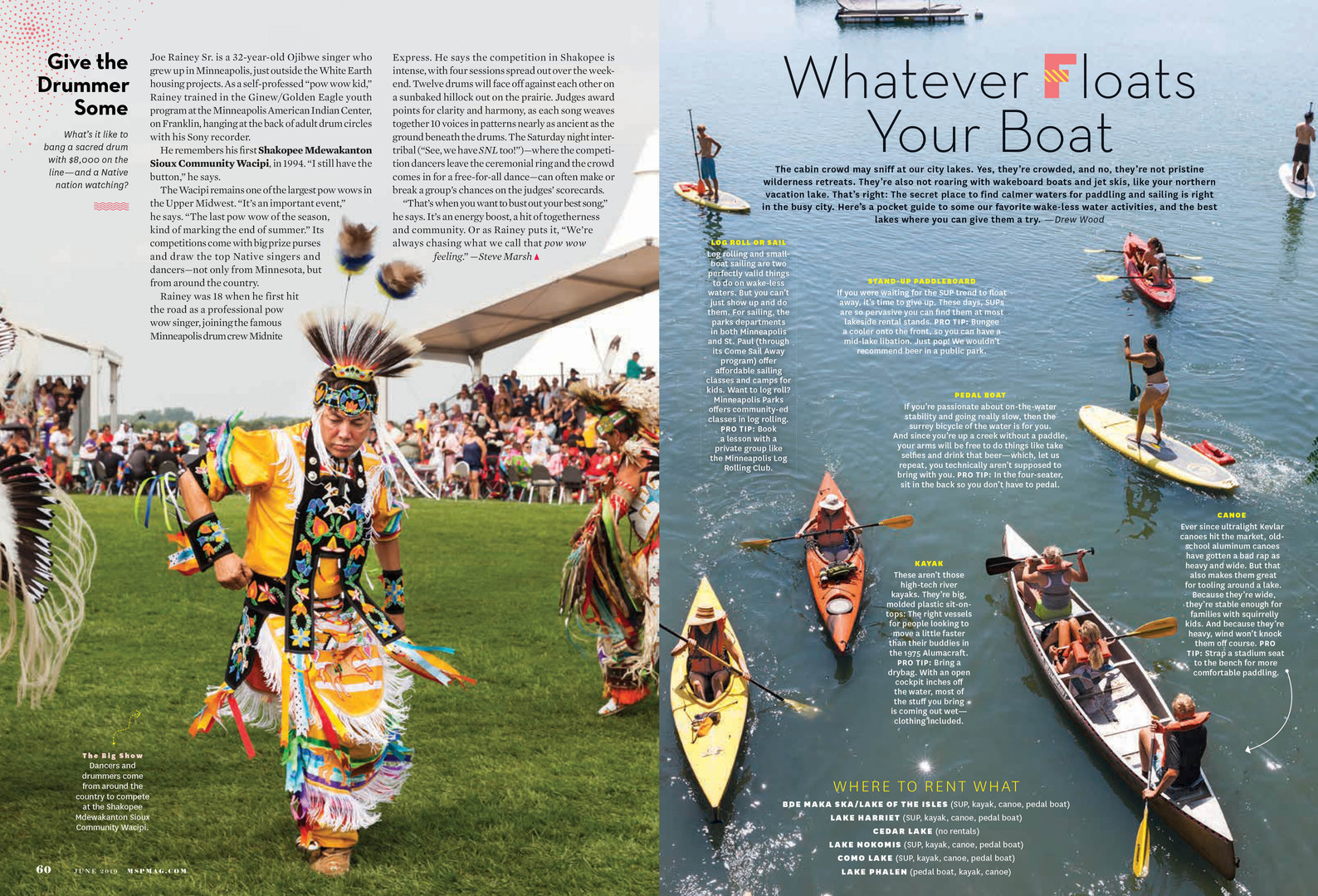 Mpls.St.Paul Magazine June 2019 Summer Cover+Feature