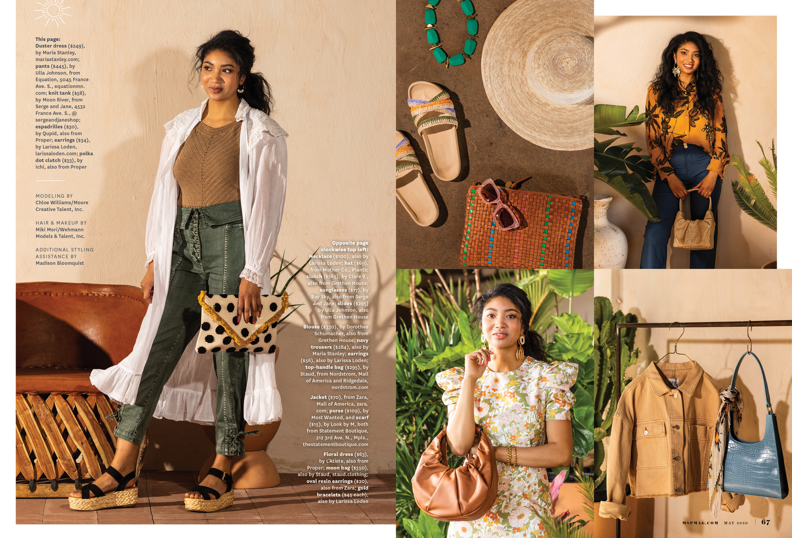 Mpls.St.Paul Magazine May 2020 Fashion Feature