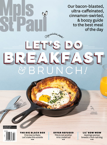 Mpls.St.Paul Magazine Feb 2020 Cover+Feature