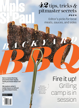 Mpls.St.Paul Magazine Aug 2020 Cover + Feature