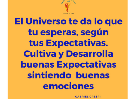 Tus Expectativas y tus Emociones