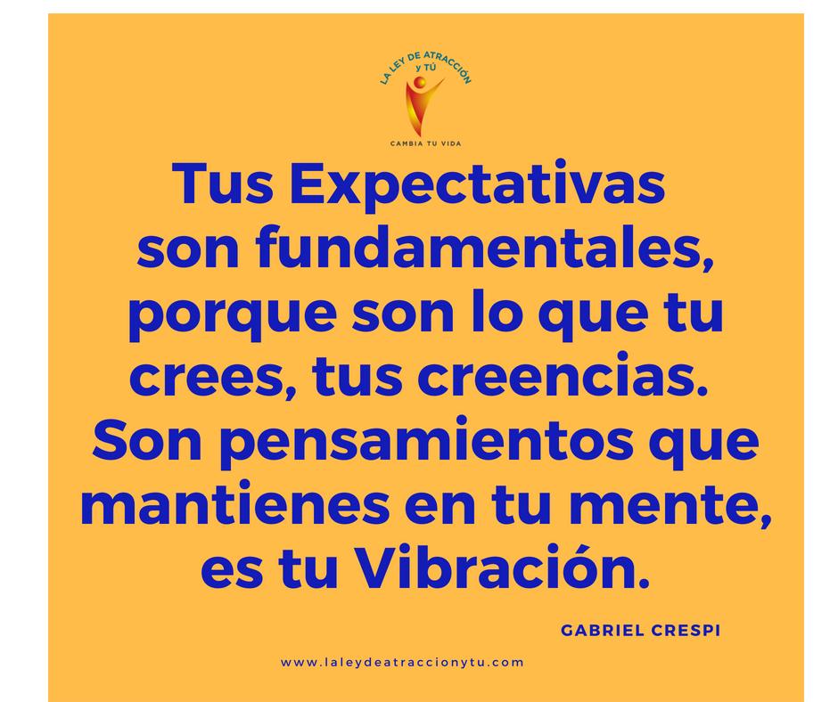 Expectativas y Creencias