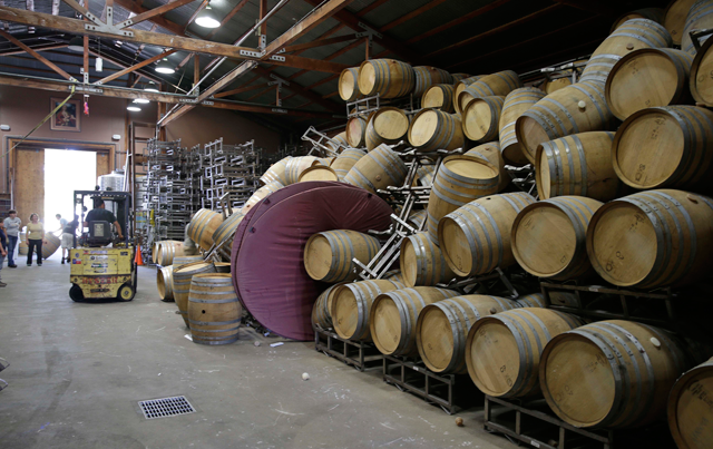 Earthquake Rocks Napa Valley