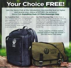 Backpack & Messenger